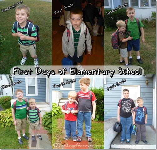 First Days of Elemtary School