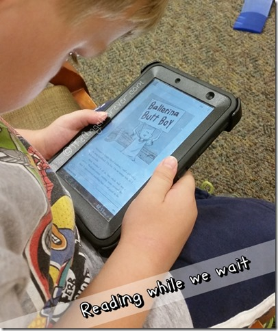Reading Stink Books on the Kindle App