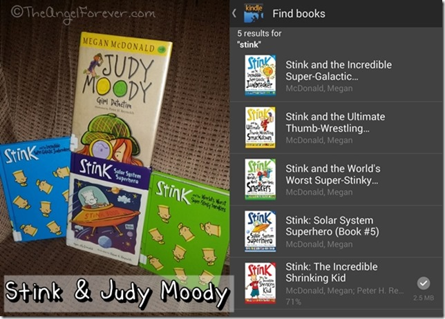 Stink and Judy Moody Books