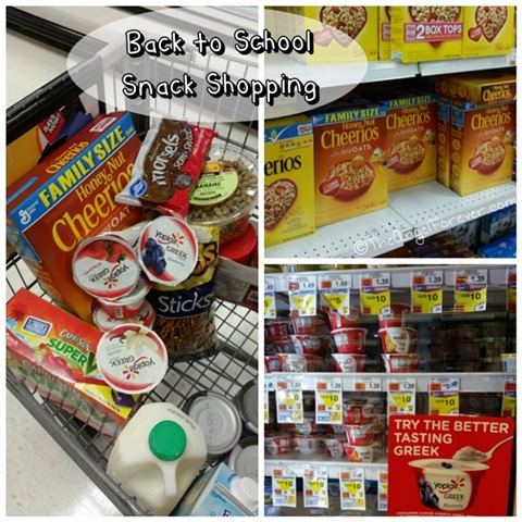 Back to School Snack Shopping