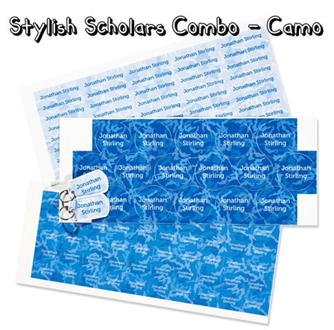 Mabel's Labels - Stylish Scholars Combo in Camo