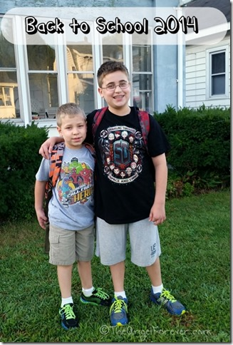 Back to School 2014 - Grade 6 and 2