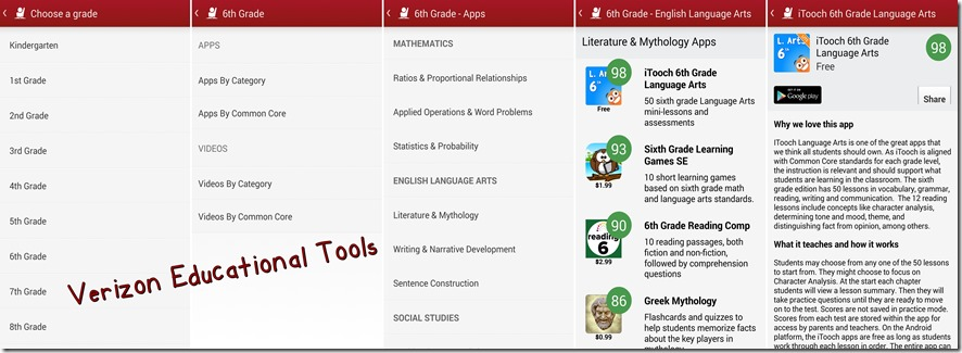 Exploring Verizon Educational Tools
