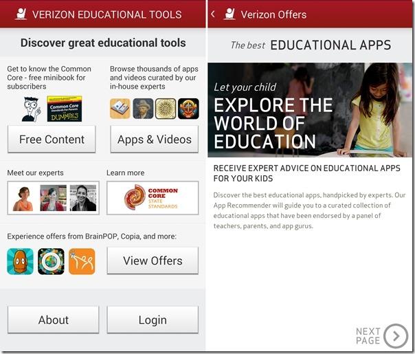 Verizon Educational Tools