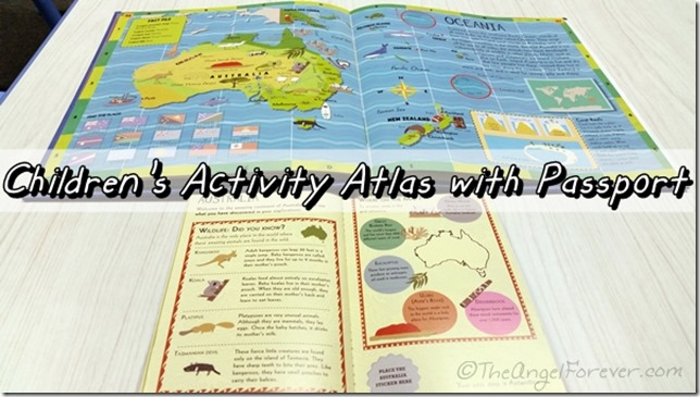Children's Activity Atlas with Passport