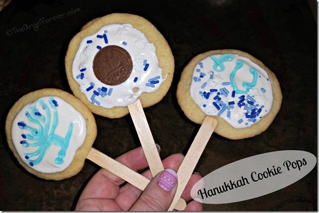 Hanukkah Cookie Pops
