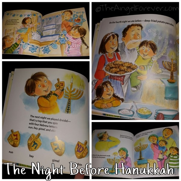 Inside The Night Before Hanukkah Book