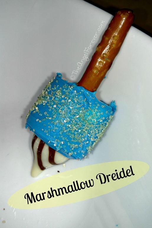 Marshmallow Dreidel