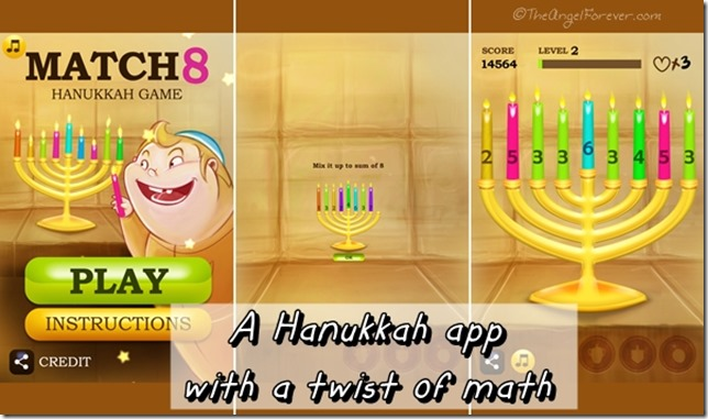 Match 8 Hanukkah Game