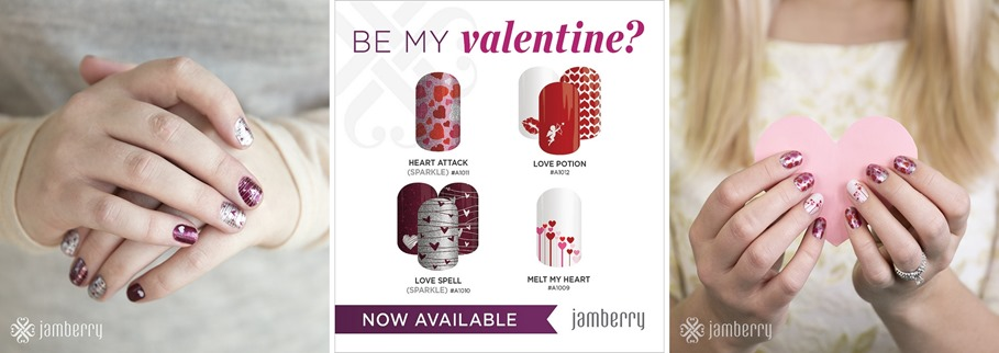 Jamberry for Valentines Day