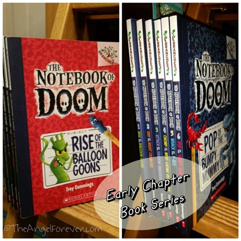 The Notebook of Doom book series for kids