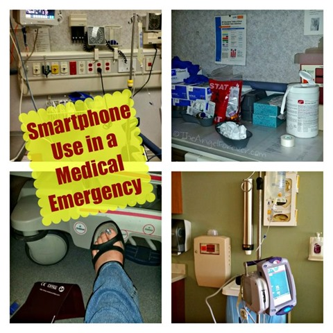 Smartphone use in a medical emergency