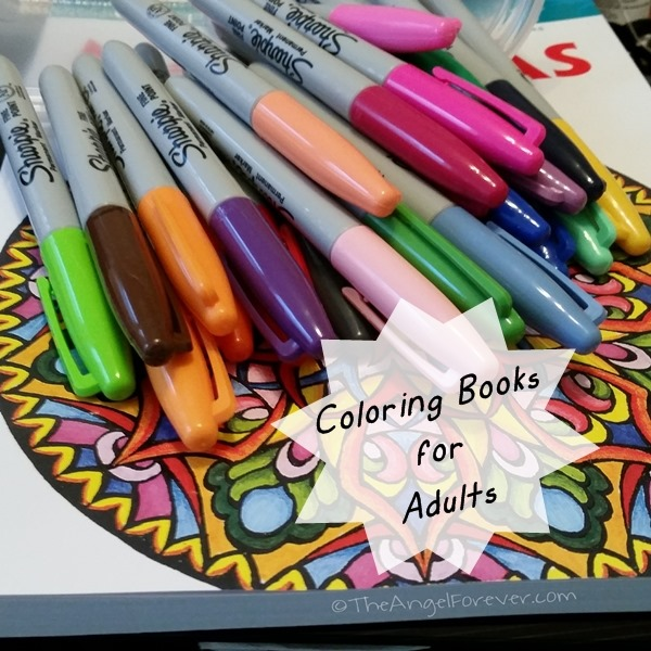 Coloring Books for Adults | The Angel Forever