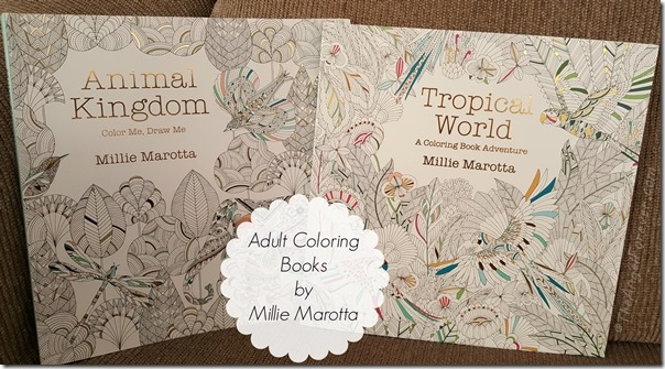 Adult Coloring Books by Millie Marotta