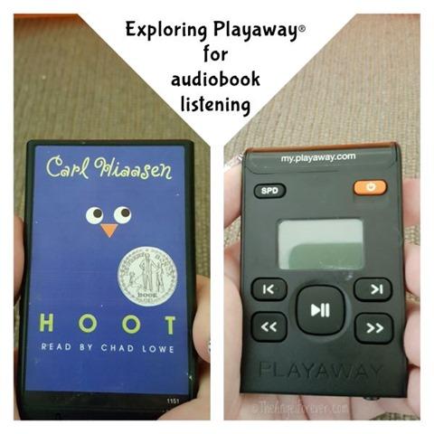 Exploring Playaway for audiobook listening