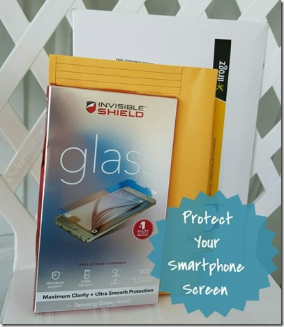 Protect your smartphone screen