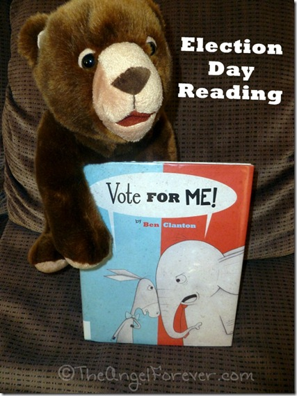 Vote for Me - Election Day picture book