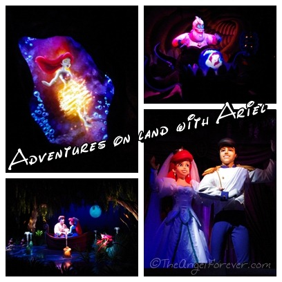 Adventures with Ariel in New Fantasyland