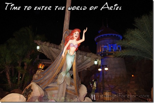 Journey of The Little Mermaid in New Fantasyland