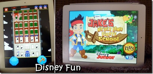 Disney iPad apps