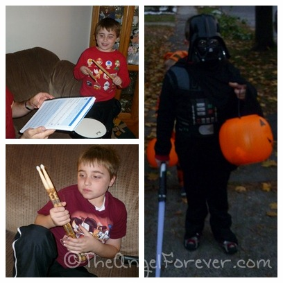 Drummer boy and Halloween 2011
