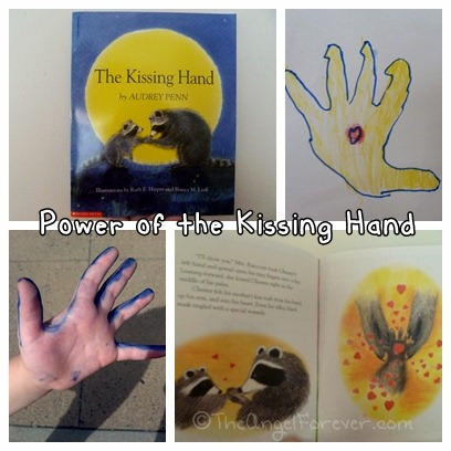 The Kissing Hand to help with kindergarten