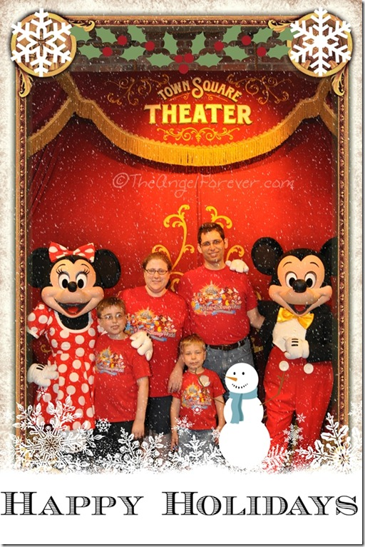 Disney Winter Greetings