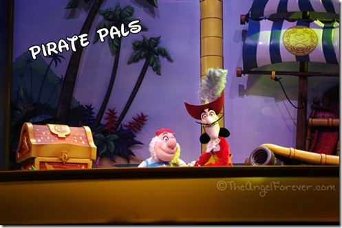 Captain Hook and Smee - Disney Junior Show Hollywood Studios