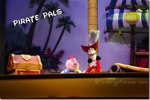 Captain Hook and Smee - Disney Junior Show Hollywood Studios
