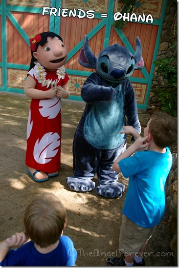 Lilo and Stitch at Walt Disney World