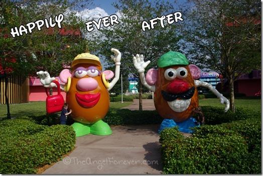 Mr and Mrs Potato Head Pop Century Resort
