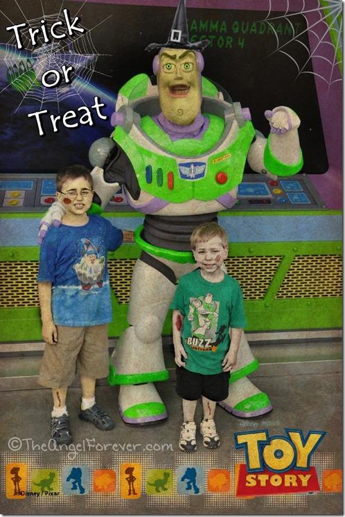 Buzz Lights Year Halloween