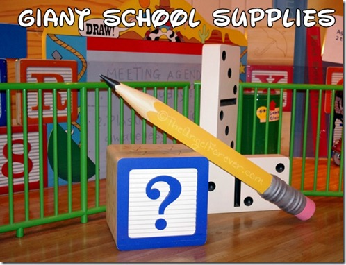 Giant Disney School Supplies
