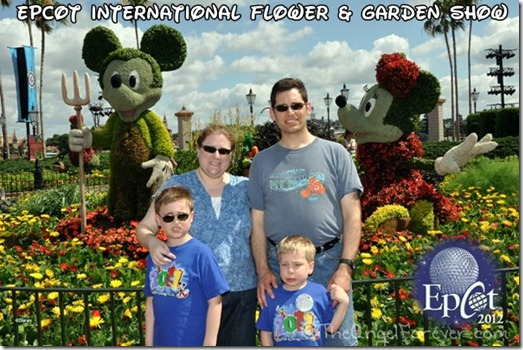 Epcot International Flowert and Garden Show 2012