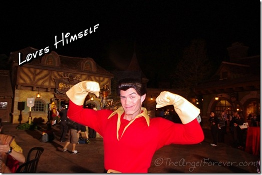 Gaston at New Fantasyland