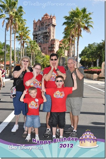 Entire Family with PhotoPass