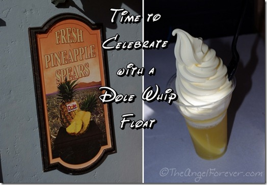 Dole Whip Float to Celebrate