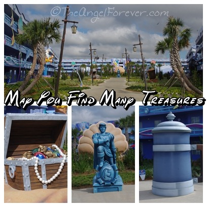 Little Mermaid Treasures at the Art of Animation Resort