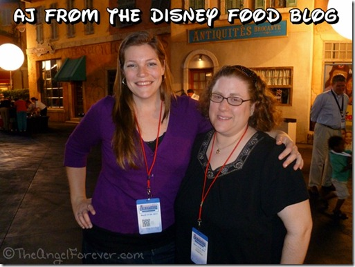 AJ from The Disney Food Blog