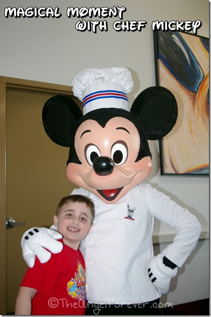 Chef Mickey Magical Moment
