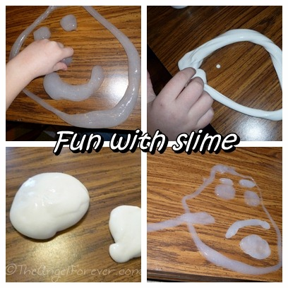 Creative slime time