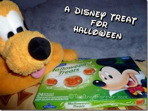 Mickey Mouse Halloween cookies
