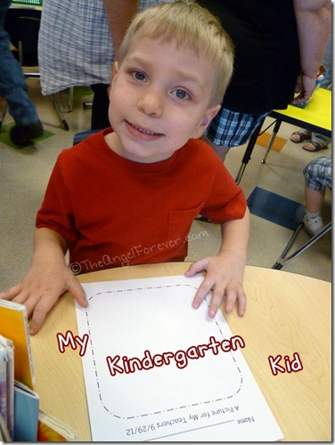 My Kindergarten Kid 2012