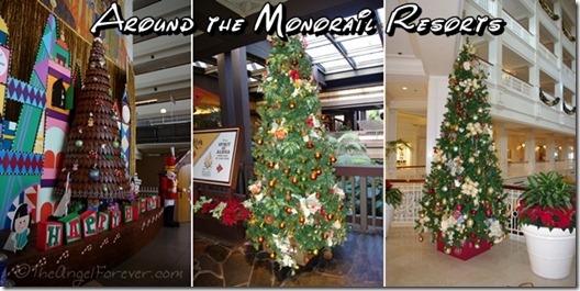 Holidays around the Disney Monorail Resorts