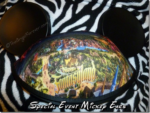 New Fantasyland Mickey Ears