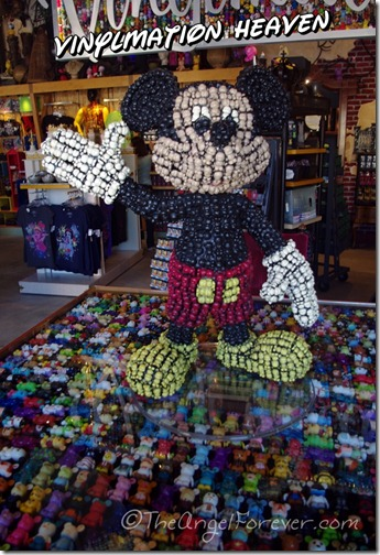 Mickey Mouse Vinylmation crazy at Downtown Disney