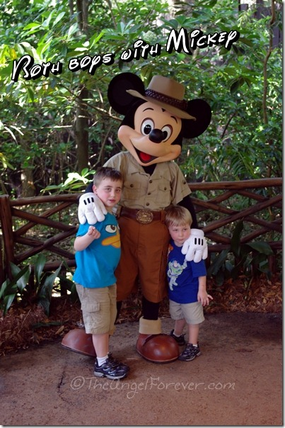 Mickey Mouse at Disney's Animal Kingdom