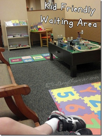 Pediatric ENT waiting room