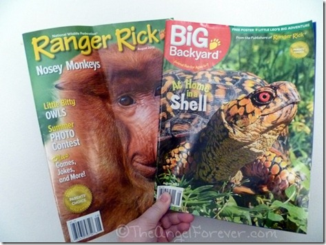 Ranger Rick and Big Backyard Magazine