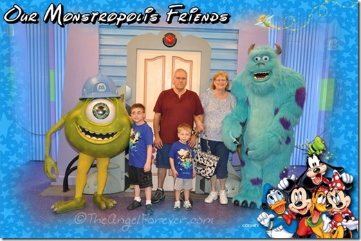 Mike and Sully at Hollywood Studios